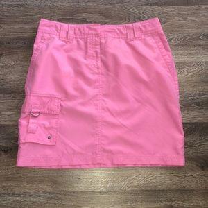 Tommy Hilfiger pink skirt w/ cargo pocket